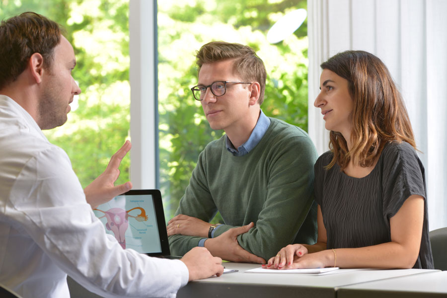 Consultations <b>in a personal atmosphere</b>